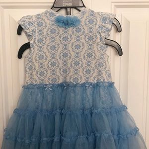 Little Me Short-Sleeve Toddler Dress 24 Months